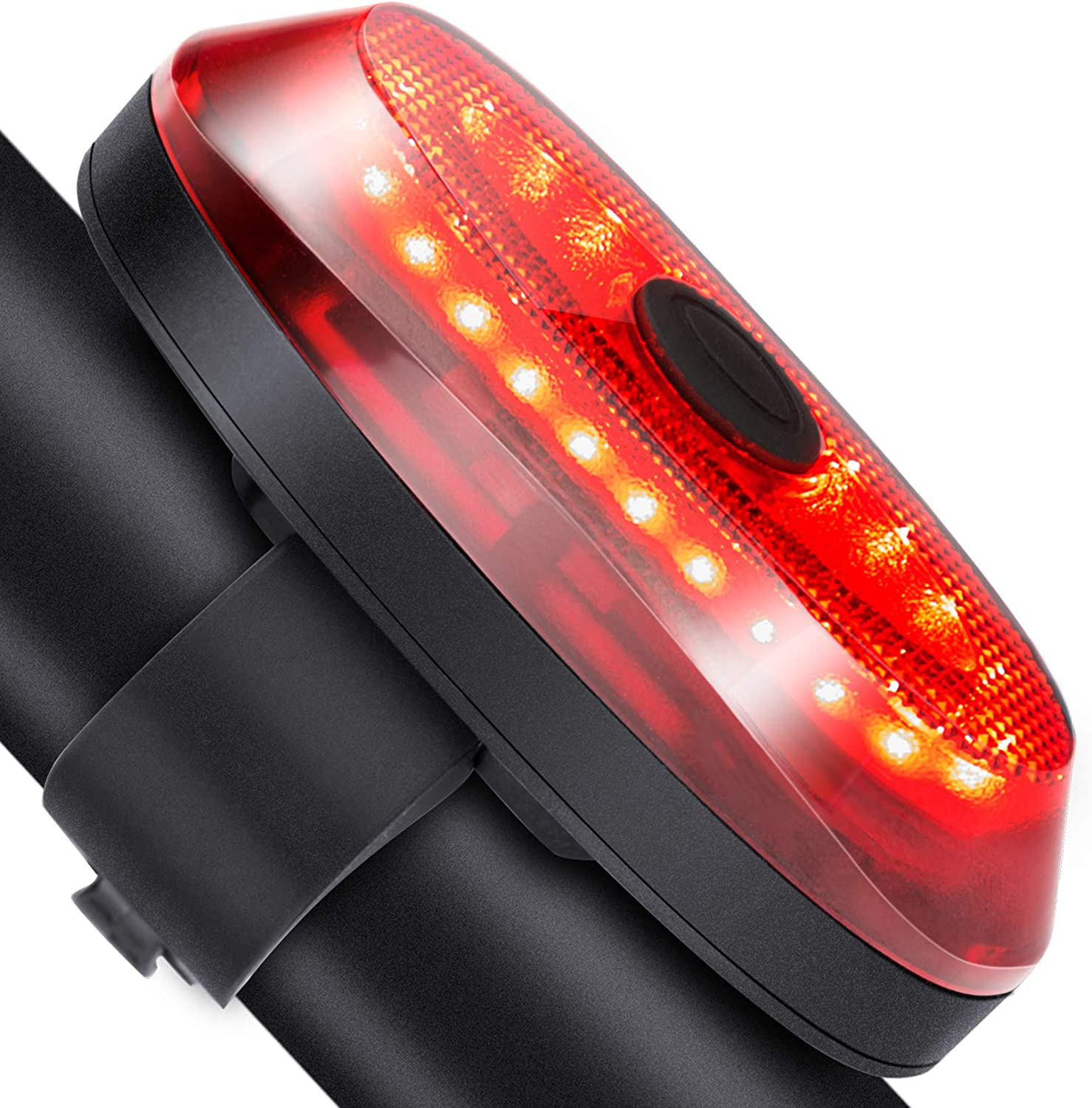 Bicycle Rear Light Cob Bicycle Led Taillight Cycling Warning Lamps New