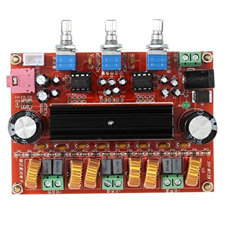 2.1 Channel TPA3116D2 Digital Amplifier Board, 2 50W +100W Subwoofer Power Audio Sereo AMP