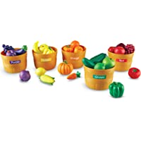 Learning Resources LER3060 Farmers Market Color Sorting Set 31 Pieces