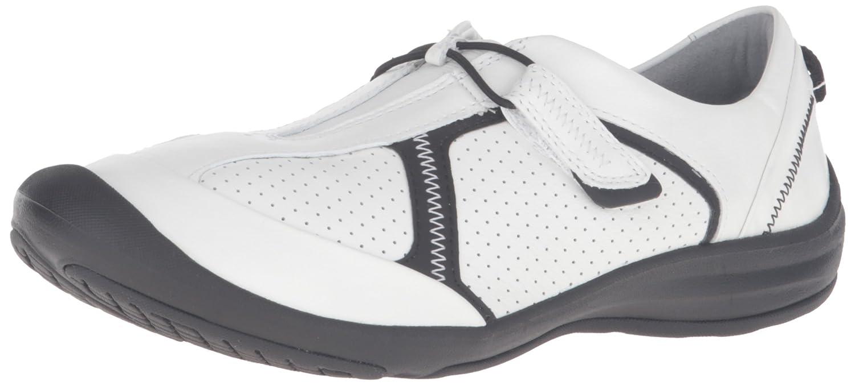 CLARKS Women's Asney Slipon Fashion Sneaker B0195GUKC2 6 B(M) US|White Leather