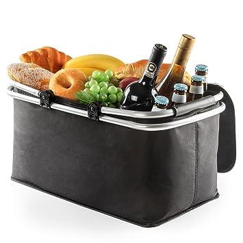 e0ebd8fe74fc1 Panier de Pique-Nique Pliable Carry-Bag Boîte à Lunch isolée Pliante,Cabas