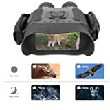 Bestguarder Night Vision Binoculars, 4.5-22.5×40 HD Digital Infrared Hunting Scope Record 5mp Photo & 1280×720 Video…