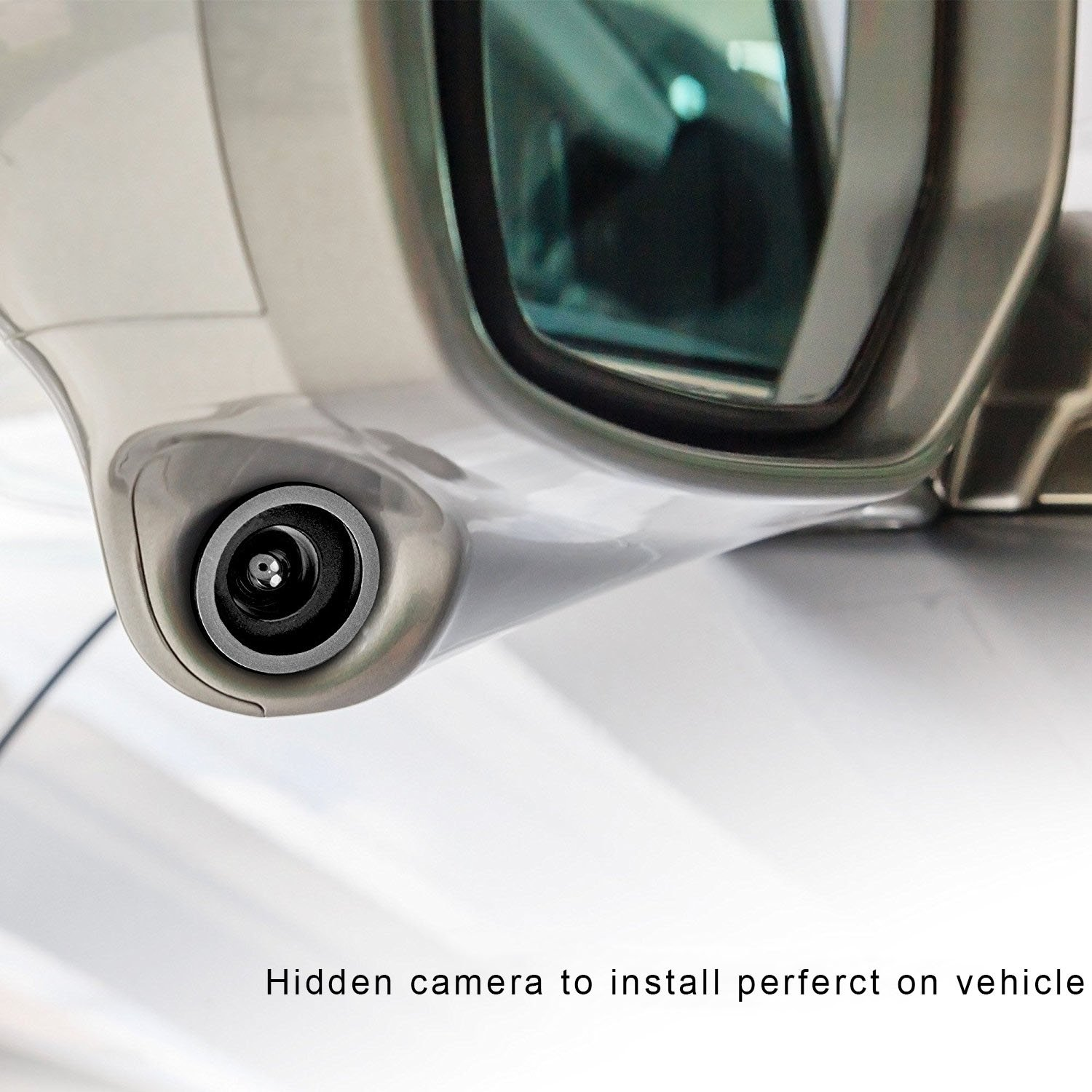 170 degree Viewing Angle Universal Car Rear View Side View Front View /& Security Spy Camera suitable for any car models HAYA SanrenGo hidden Mini Backup Camera