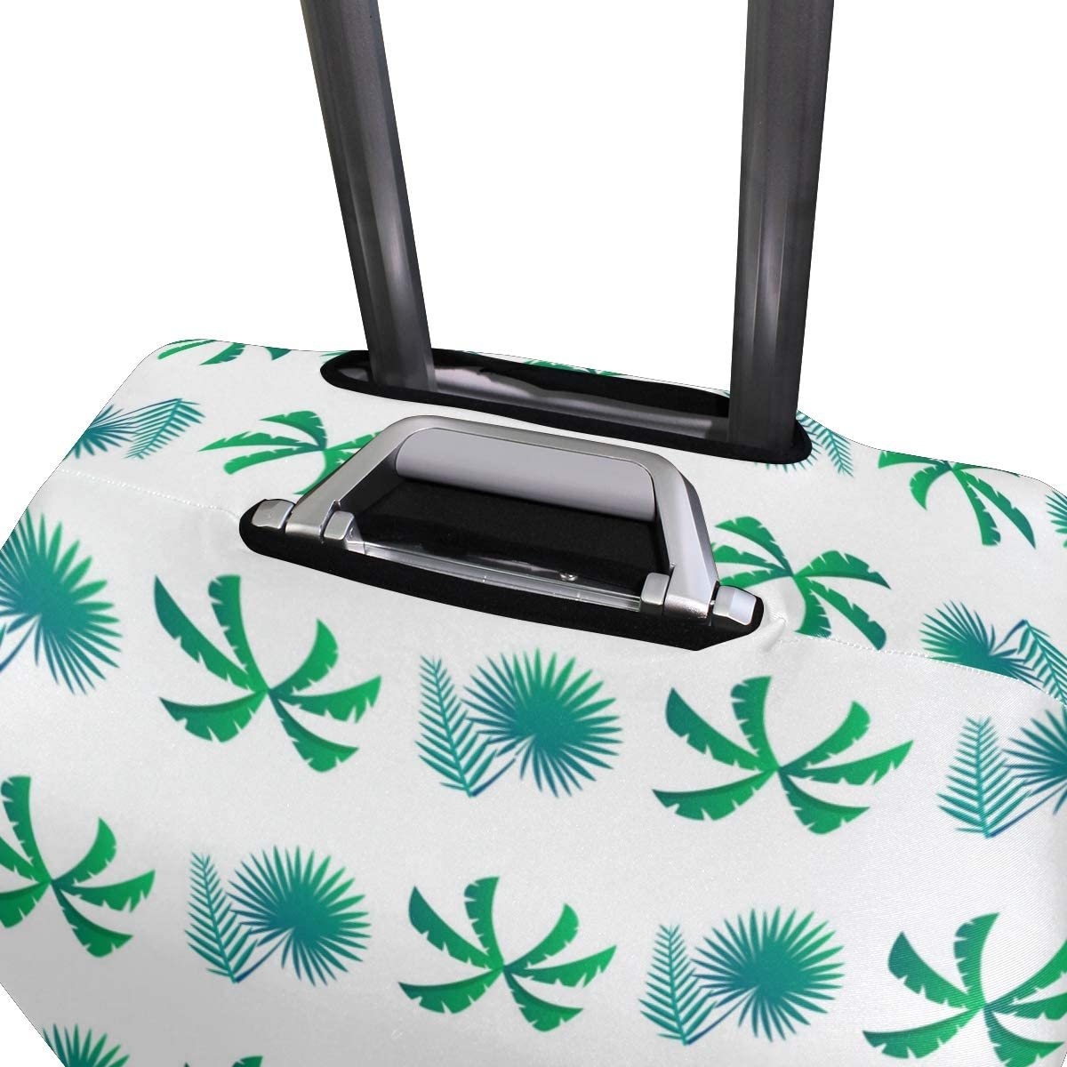 Small And Regular Palm Leaves Travel Luggage Protector Case Suitcase Protector For Man/&Woman Fits 18-32 Inch Luggage