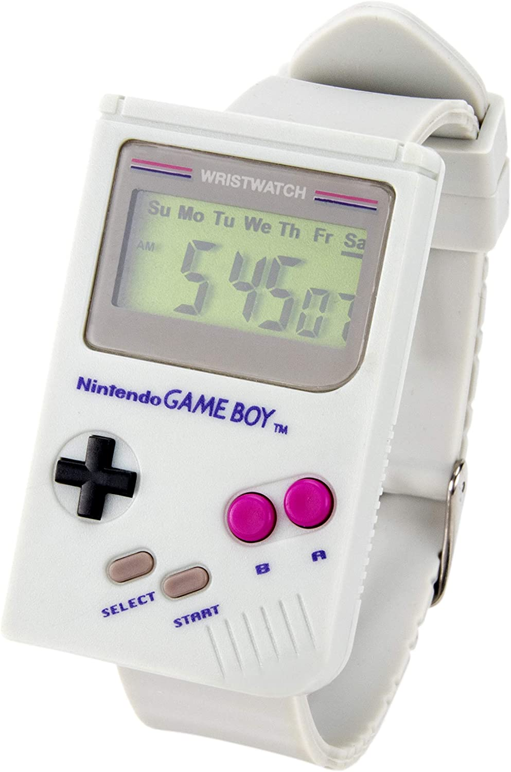 Nintendo Gameboy Digital Watch Official Super Mario Land Alarm Sound Built In Led Iconic Design Great Retro Gaming Gift Amazon Co Uk Toys Games