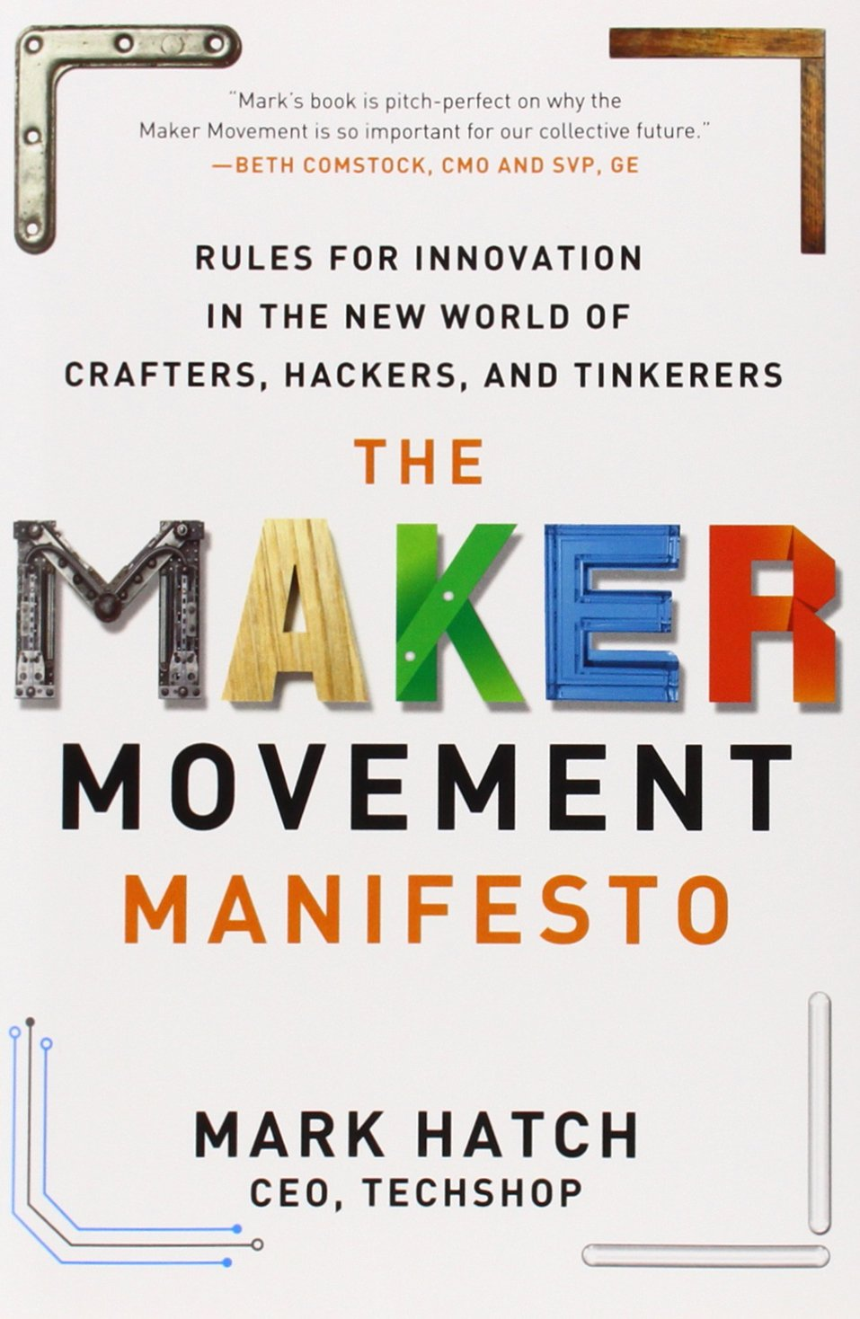 The Maker Movement Manifesto: Rules For Innovation In The New World Of  Crafters, Hackers, And Tinkerers: Mark Hatch: 9780071821124: Amazon:  Books