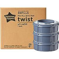 Tommee Tippee Sangenic Recambios Sistema avanzado para desechar pañales Twist & Click, Paquete de 3 Unidades…