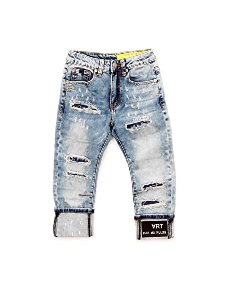 DANIELE ALESSANDRINI 1235D0048J Pantalones Vaqueros Niños 5A ...