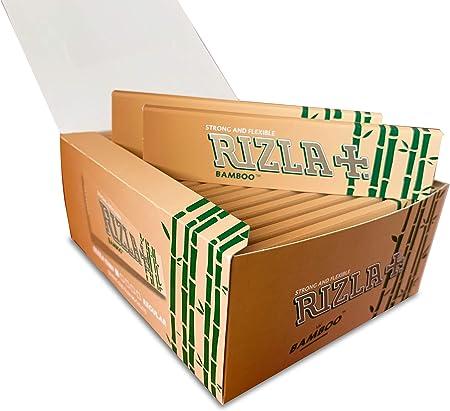 Rizla Bamboo - Papel de liar (tamaño King, papel de bambú) 5 Pack: Amazon.es: Hogar