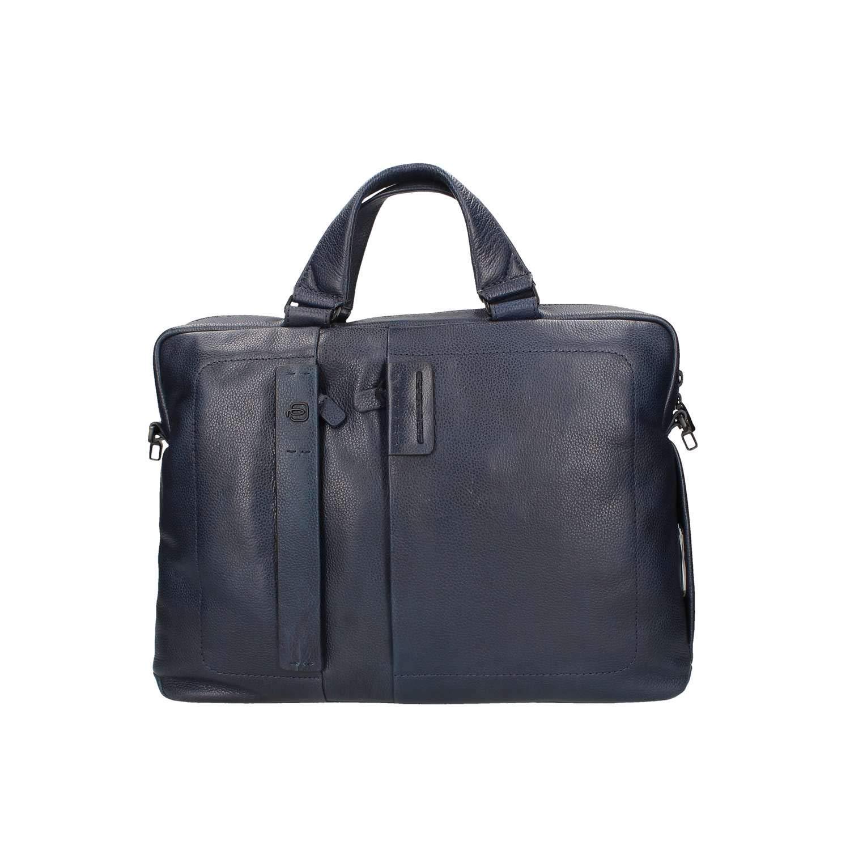 Piquadro Schoolbag、ナイトブルー(ブルー) - CA1903P15S   B07DLL2NNT