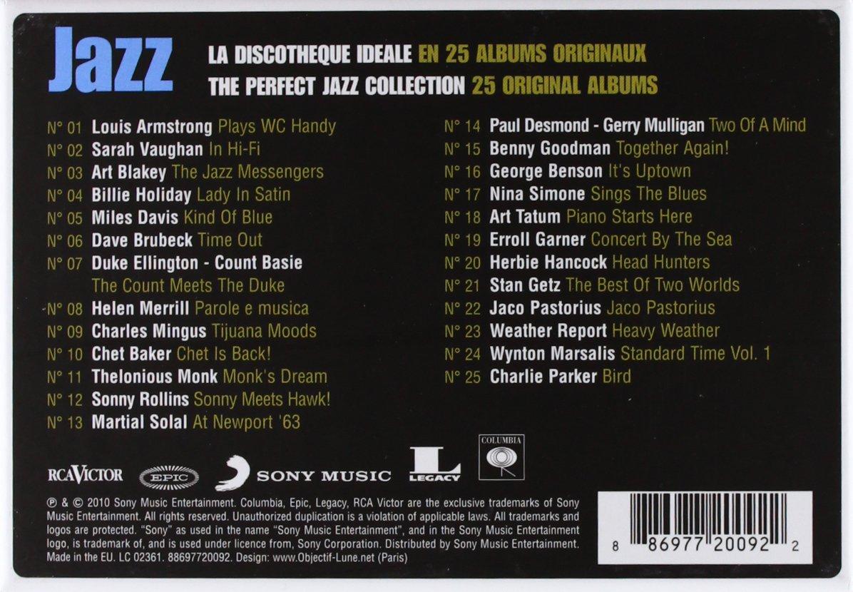 Turbo Jazz : La Discothèque Idéale En 25 Albums Originaux : Multi  YJ93