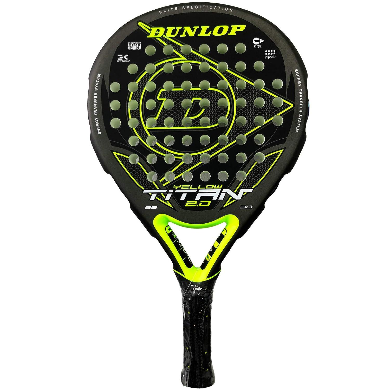 Dunlop Pala de Padel Titan 2.0 Yellow: Amazon.es: Deportes y ...