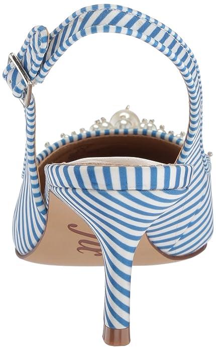 071a8c3ee9aac Amazon Brand - The Fix Women's Felicia Slingback Kitten Heel Pump with Faux  Pearls