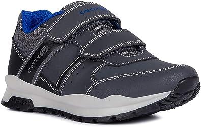 neues Erscheinungsbild harmonische Farben erstaunlicher Preis Amazon.com   Geox Boys' CORIDAN 9 Sneaker Dual Riptape Strap, Grey ...