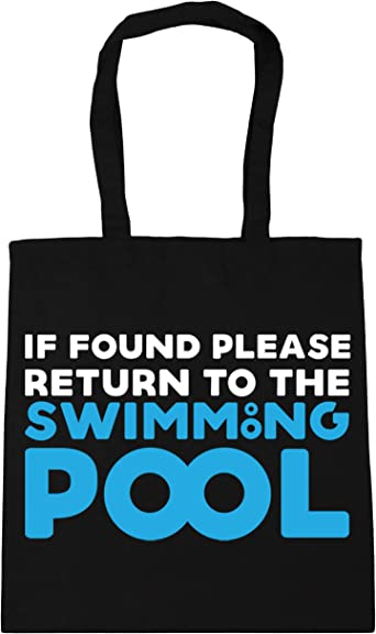 Print4u Shopping Tote Bag For Life Id Rather Be Swimming