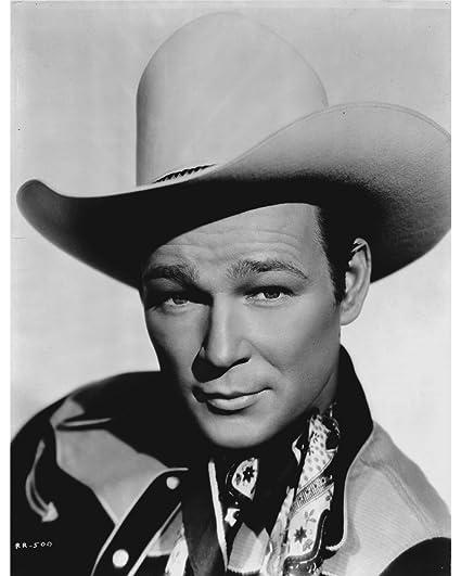Amazon.com  Globe Photos ArtPrints Roy Rogers in A Cowboy Hat - 8