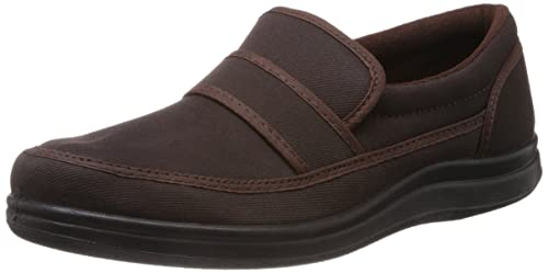 Men's Brown Canvas Boat Shoes at Amazon.in