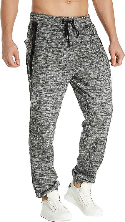 MODCHOK Pantalones de chándal de algodón para hombre: Amazon.es: Ropa y accesorios