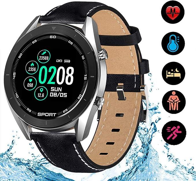 LGLQQ Smartwatch con Pulsómetro,Color De La Pantalla De Reloj Inteligente, 1,2 Pulgadas Podómetro Contador De Monitor De Sueño Calorías Relojes Deportivos,Adecuado para Los Niños Y Niñas: Amazon.es: Hogar