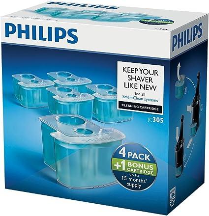 Philips JC305 - Cartuchos de limpieza (4+1): Amazon.es: Salud y cuidado personal