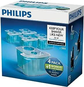 Philips JC305 - Cartuchos de limpieza (4+1): Amazon.es: Salud y ...