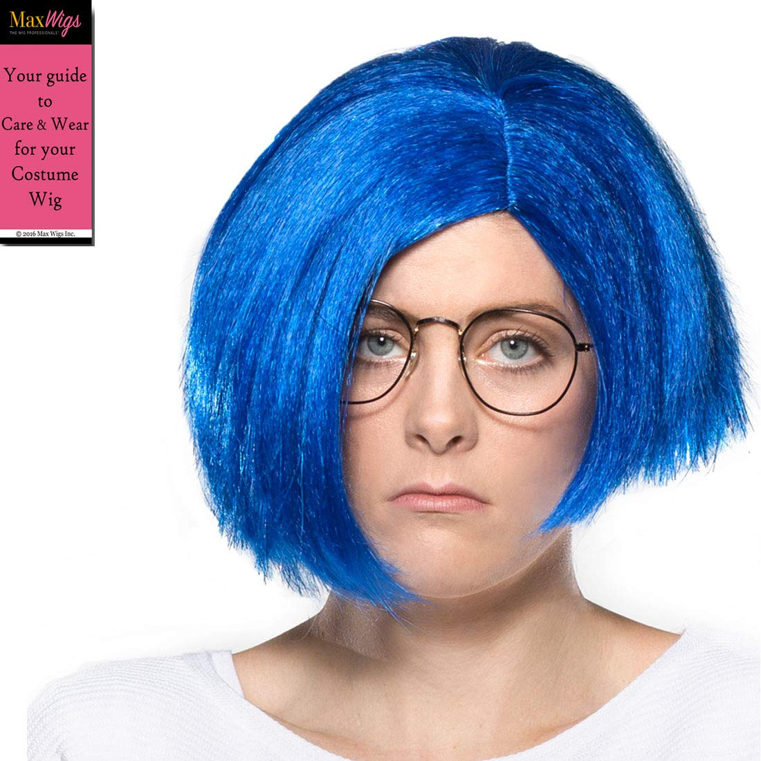 Amazon.com: Sadness Inside Out Color Blue - Enigma Wigs ...