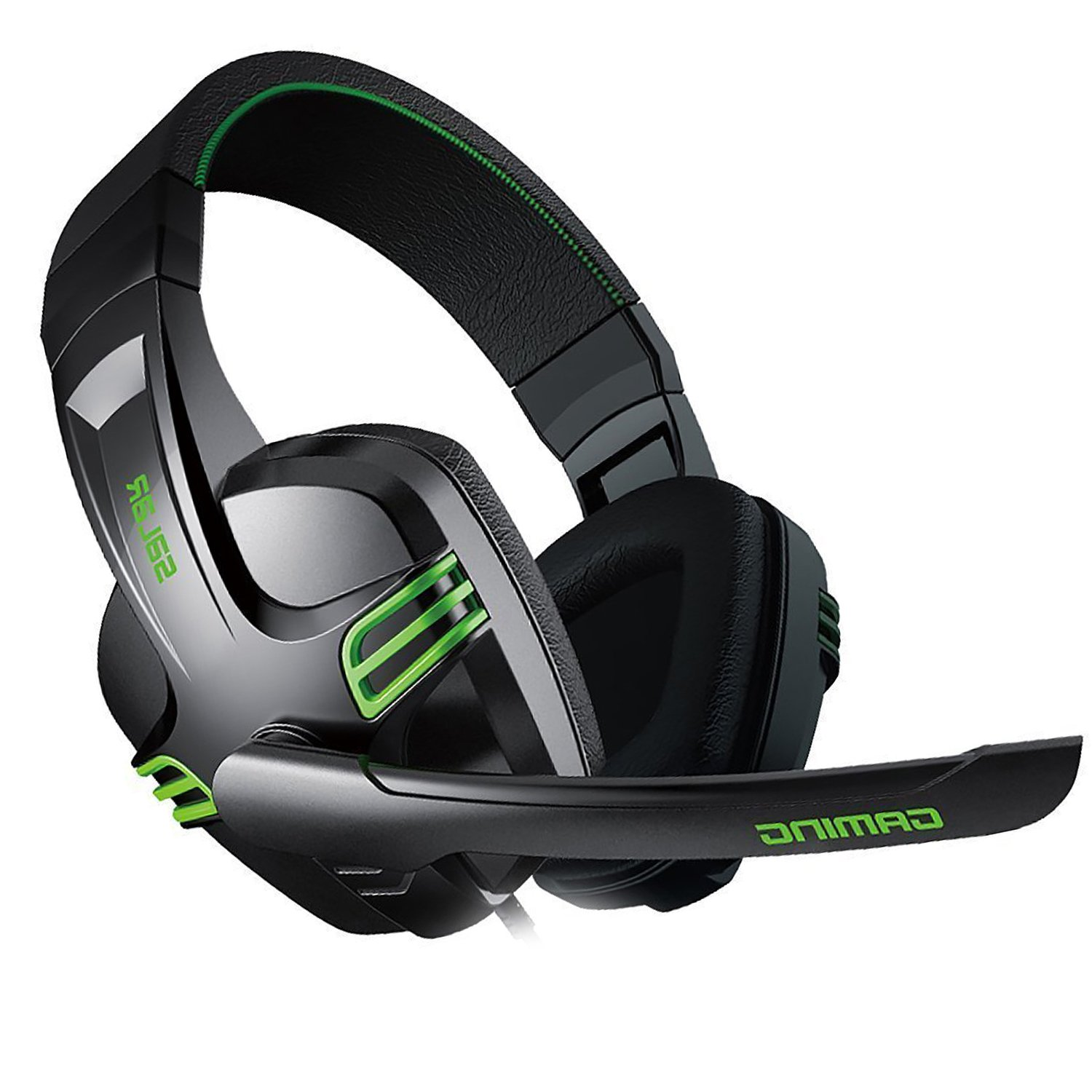 Amazon.com: iRainy KX-101 Salar Series 4.0mm Stereo Sound PC Gaming Headset  with PC Remote (Green): Cell Phones & Accessories