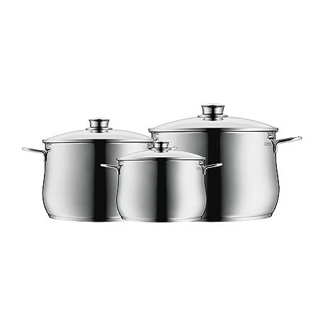 WMF Diadem plus - Batería de cocina (3 piezas)