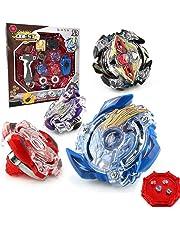 OBEST NIU Conjuntos de Metal de Peonzas Spinning Fusión 4D 4 Box Gyro Lucha Maestro Cadena Launcher con Estadio Infinity Nado