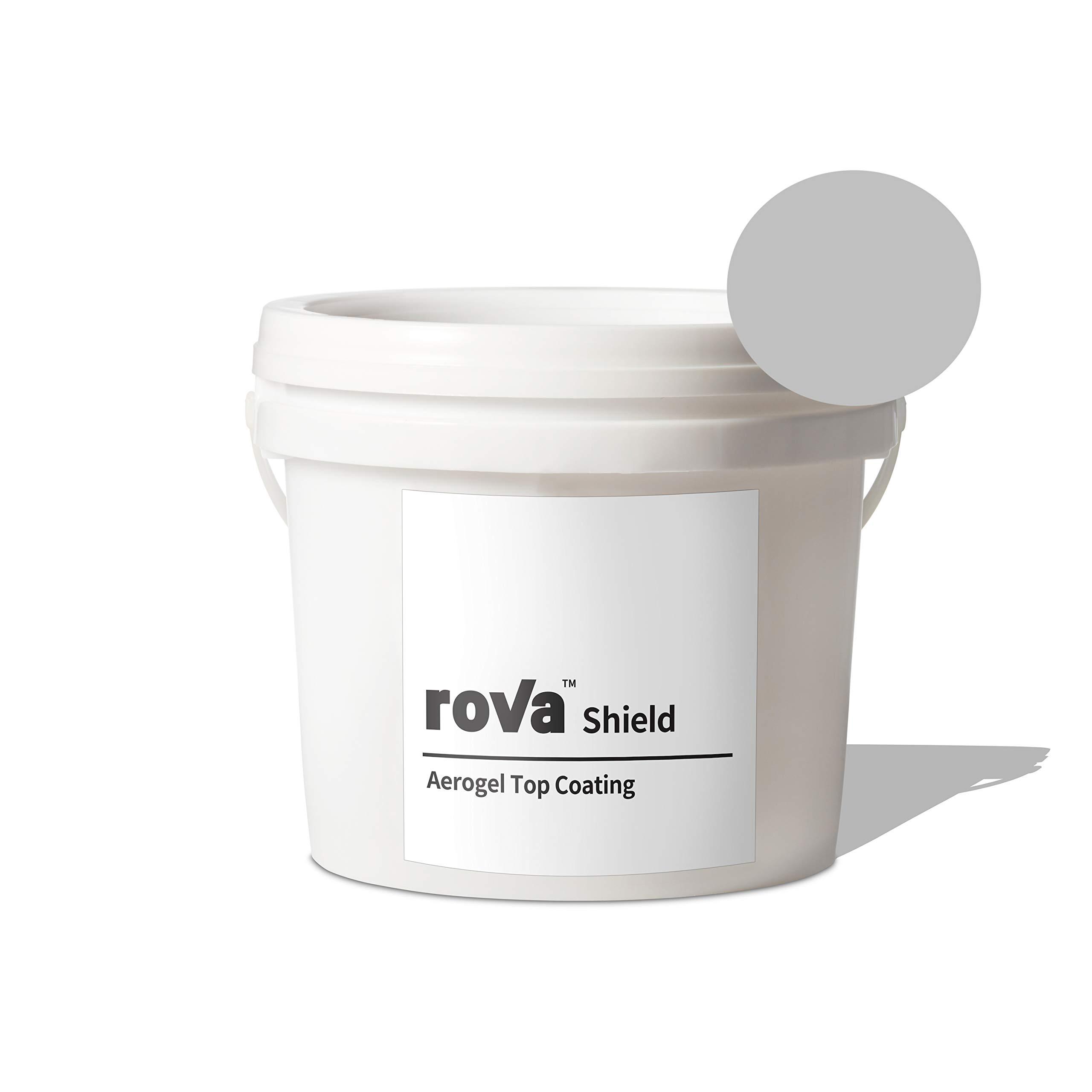 roVa Shield Aerogel Top Coating, Color Grey 1 Quart (1 Liter) by roVa (Image #1)