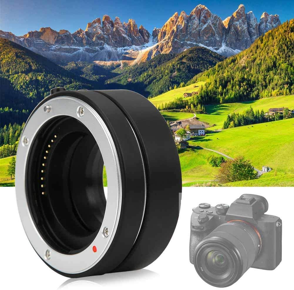 Macro Lens Auto Focus Adapter for Close-up Shot for Sony E Mount Camera Support TTL Metering and AE Mode V BESTLIFE 10mm+16mm Camera Extension Tube Macro Lens Adapter Ring