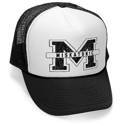 26e7b2747e16b MISKATONIC M - vintage horror - Mesh Trucker Cap Hat