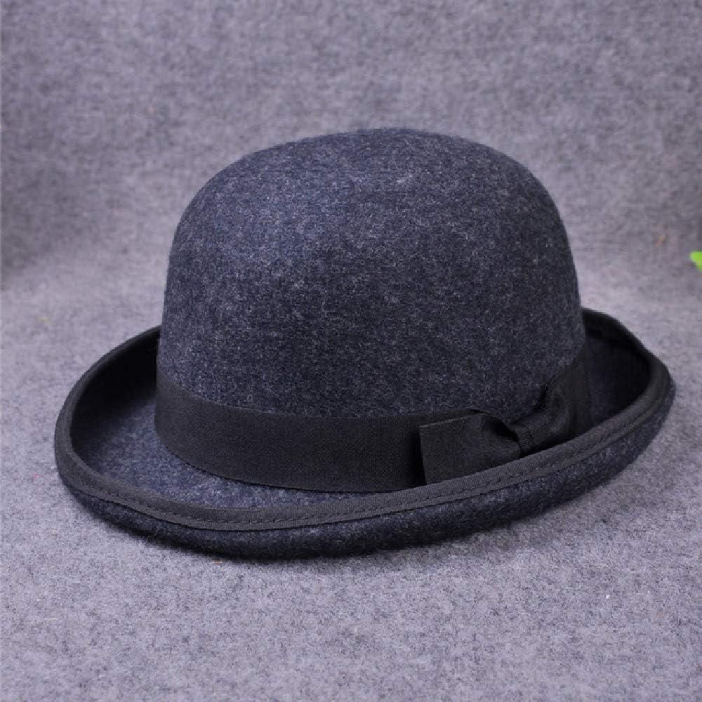 DWXWMZ Hat 100/% Wool Mens//Hat for Gentleman//Dad Bowler Hat Luxury//Hats