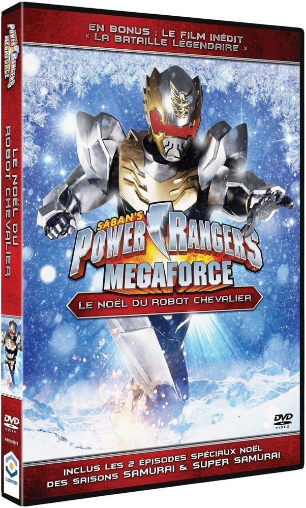 Power Rangers Megaforce - Vol. 1 : Le Noël de Robo-Chevalier Francia DVD: Amazon.es: Andrew M. Gray, Ciara Hanna, John Mark Loudermilk, Christina Masterson, ...