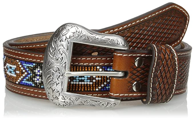 c80b718bd Amazon.com: Nocona Men's Beaded Belt: Clothing