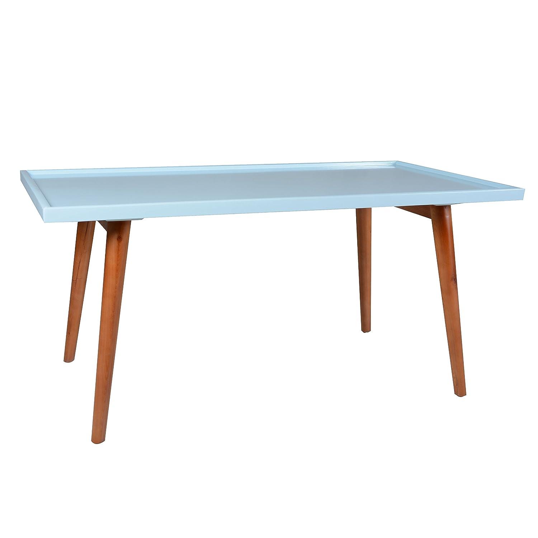CDM product Porthos Home Tray-Top Mid-Century Console Table, Aqua big image