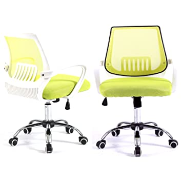 Delicieux Magshion Modern Mid Back Mesh Drafting Computer Office Desk Chair  Commercial Task Chairs (Green/