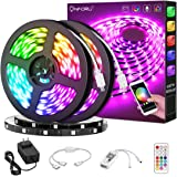 Onforu 65.6ft Smart WiFi LED Strip Lights, 20m RGB Light Strip Compatible with Alexa, Google Assistant, Dimmable Colored LED