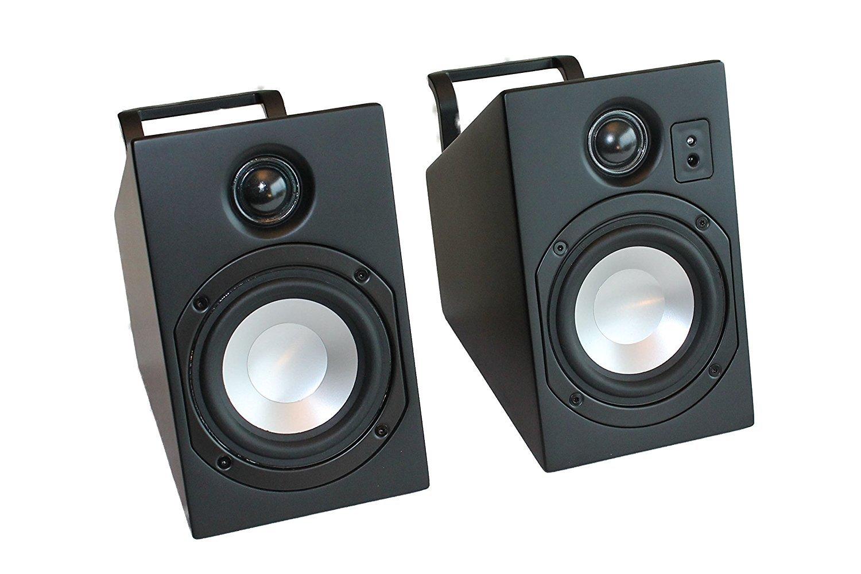 Vanatoo Transparent Zero Powered Speakers (Black, Set of 2)