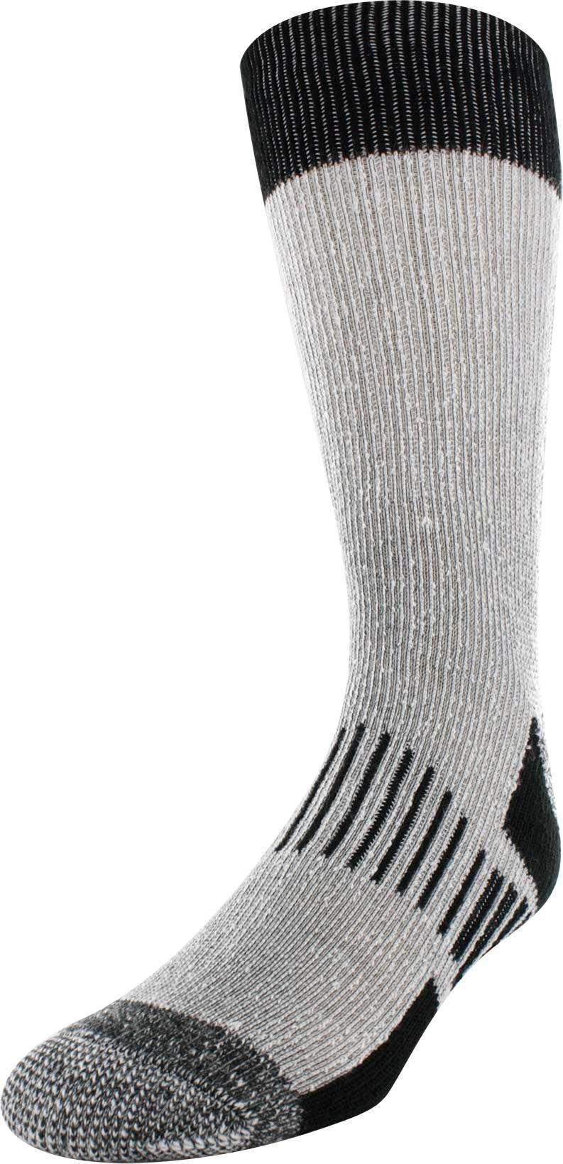 Field & Stream Woodland Hiker Crew Socks 3 Pack (Black, XL)