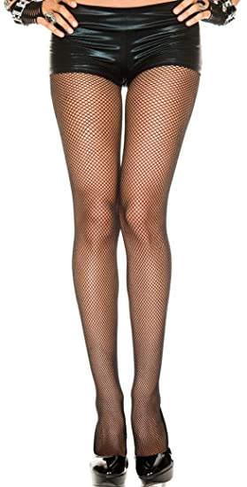 1c1ff7049df33 Image Unavailable. Image not available for. Color: One Size Basic Nylon Seamless  Fishnet Pantyhose ...