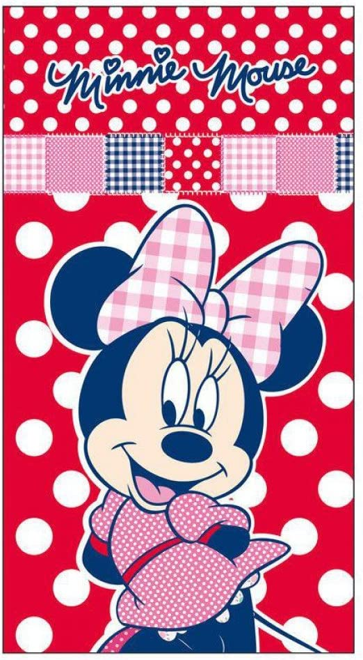 Toalla Minnie Disney Patchwork: Amazon.es: Hogar