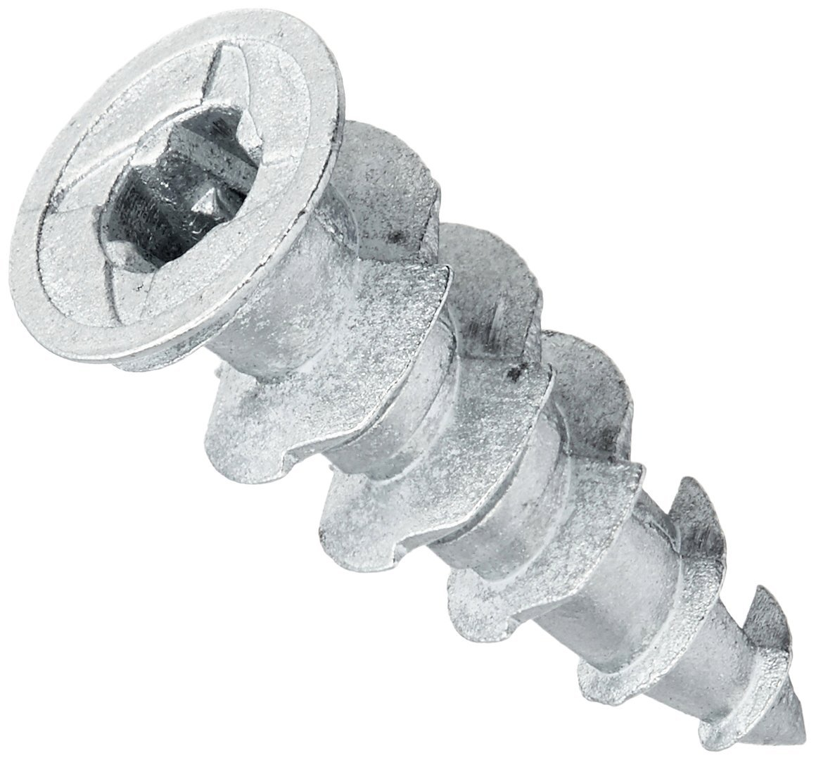 Simpson Strong Tie SWZ08L-R100 Sure Wall Drywall Anchor Zinc #8 by 1-1/4'' (100 per Box)