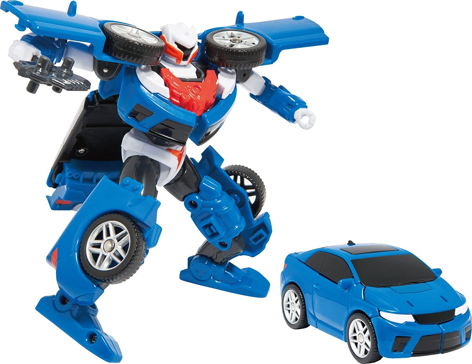Amazon Youngtoys Tobot Y Transforming Robot Car to Robot Animation Character Toys & Games