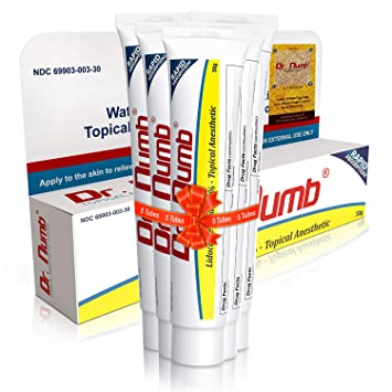 Amazon.com: Dr. Numb Topical Anesthetic Numbing Cream   Maximum ...