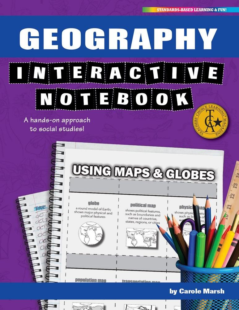Geography Interactive Notebook: A Hands-On Approach to