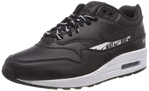 quality design 08c38 a40f0 Nike Wmns Air Max 1 SE, Scarpe da Fitness Donna, Nero Black White