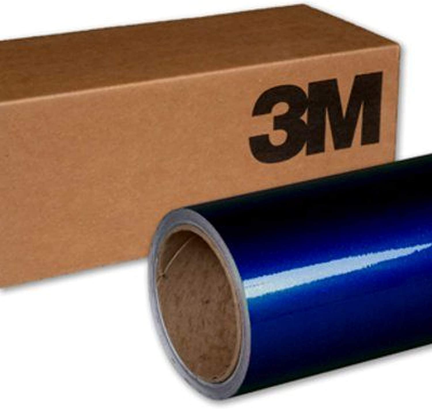 3M 1080 G217 GLOSS DEEP BLUE METALLIC 5ft x 1ft (5 sq/ft) Car Wrap Vinyl Film