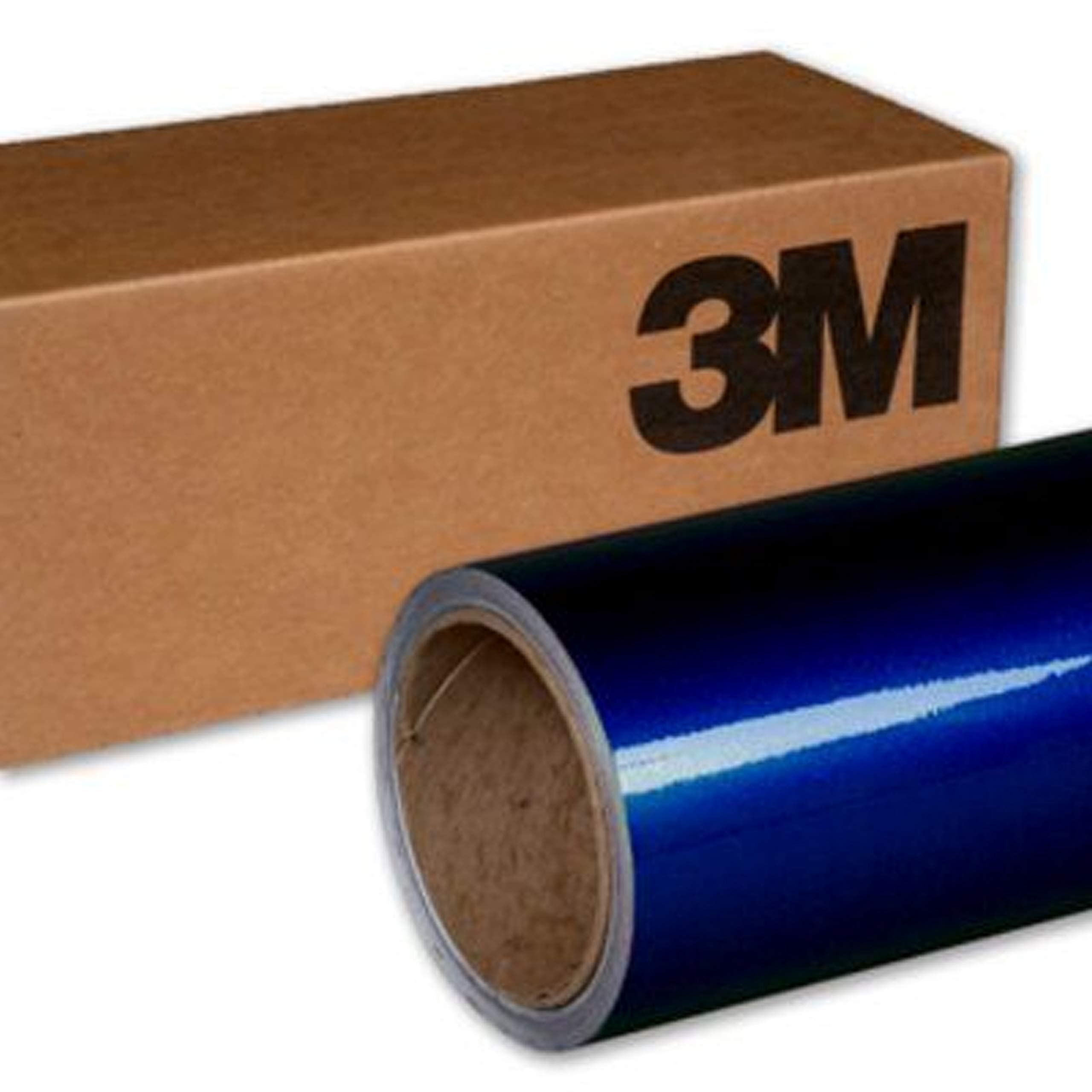 3M 1080 G217 GLOSS DEEP BLUE METALLIC 3in x 5in (SAMPLE SIZE) Car Wrap Vinyl Film