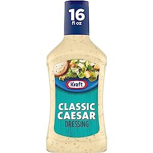 Kraft Salad Dressing, Caesar, 16 oz
